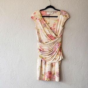 EMANUEL UNGARO FLORAL DRESS..SIZE 12